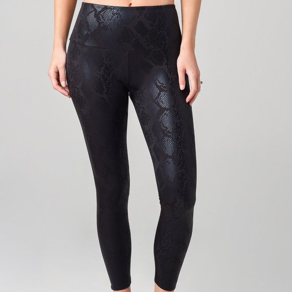 Onzie Black on Black Python leggings.